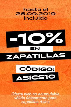 10% adicional en todas las zapatillas Asics