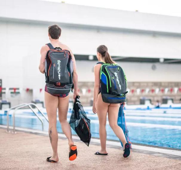 Mochila de natación 40L NABAIJI
