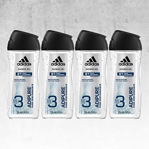 Otro pack de gel de adidas, esta vez de 4 botes de 250ml