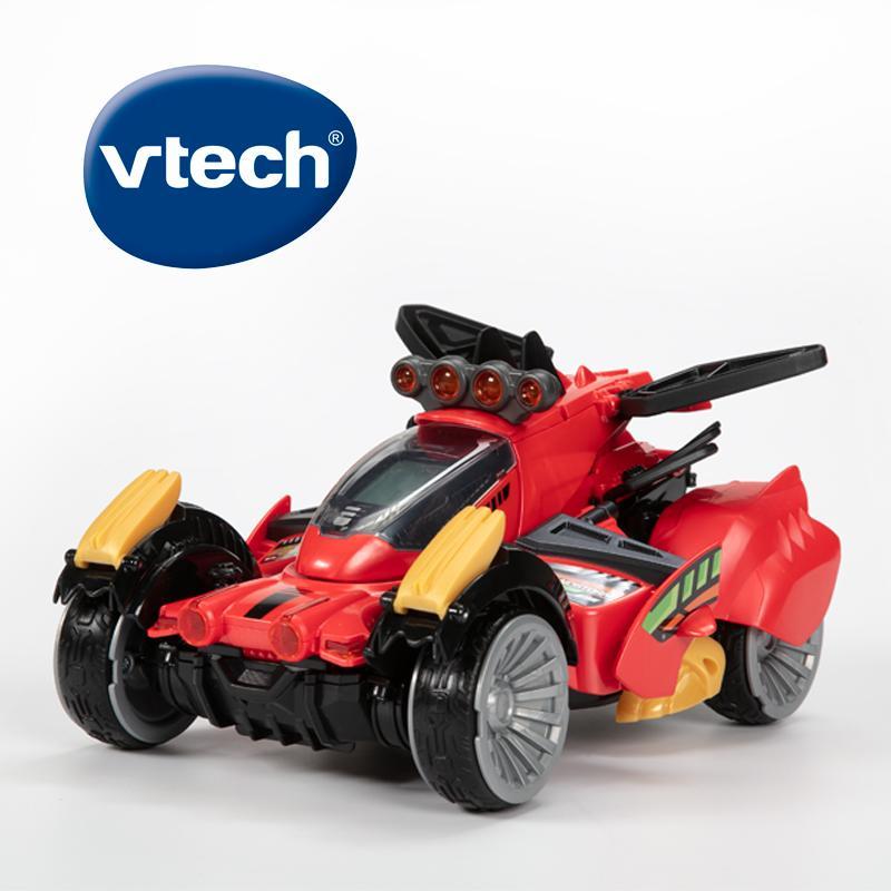 Vtech y Dinos Sandstorm el Stegosaurus con Control remoto rojo