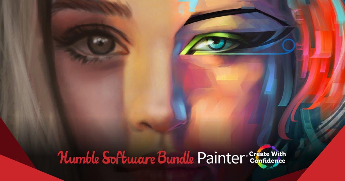 Corel painter 2019 en Humble Bundle