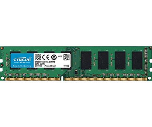 RAM Crucial DDR3 4GB solo 20.6€