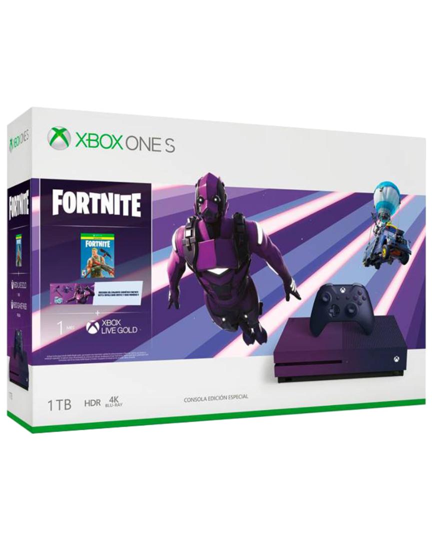Xbox One S + FIFA20 Y CAMISETA Edición Morada