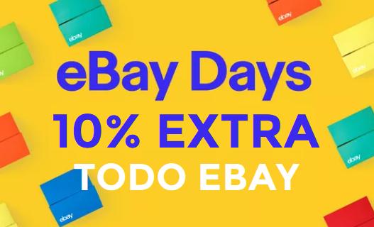 Cuponazo 10% EXTRA ahora en TODO eBay