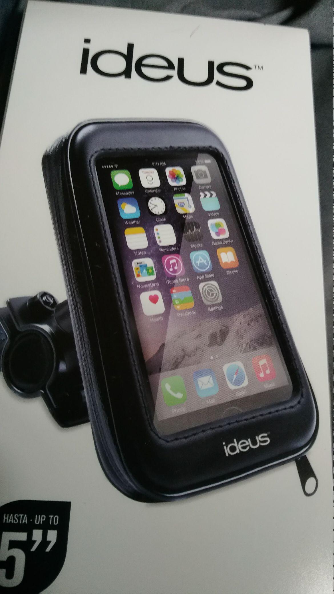 Soporte telefóno o GPS para manillar Carrefour