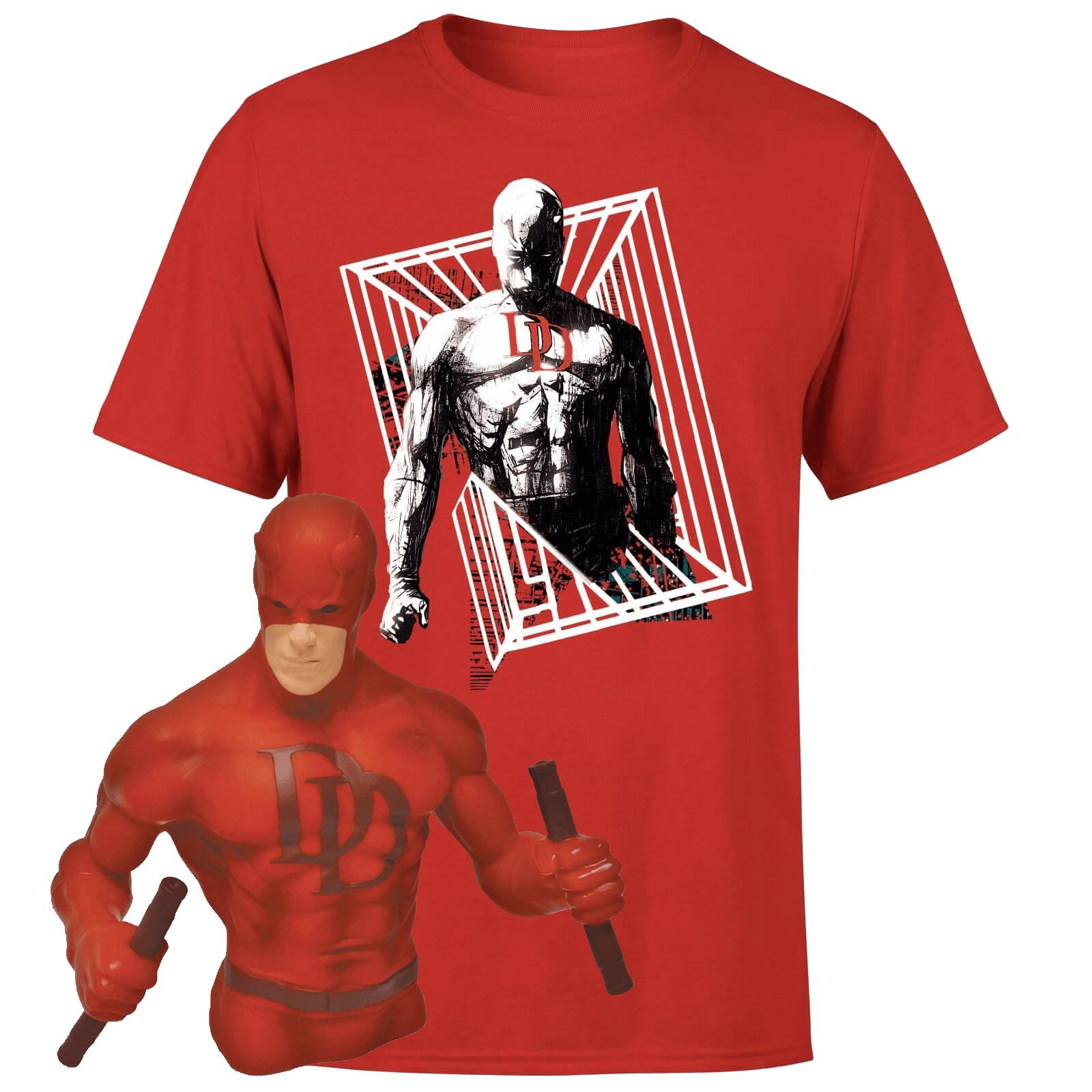 Pack Camiseta + Hucha Busto Daredevil