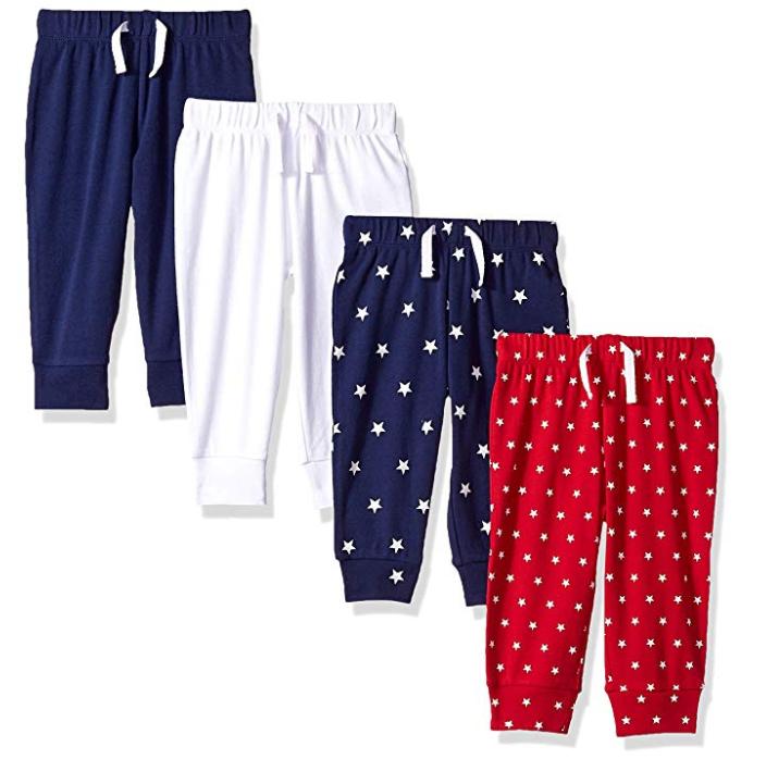 4 pantalones para peques por 9€
