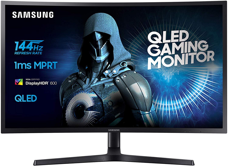 Monitor Samsung LC27HG70QQUXEN QLED 144Hz 1Ms