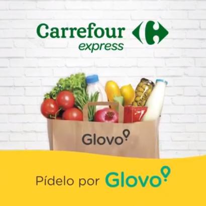 Envío gratis en Carrefour Express por Glovo