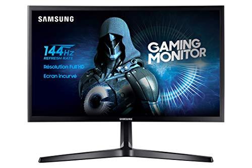Samsung Monitor Curvo 24'' (LED, Full HD, 144 Hz, Freesync, 4ms,