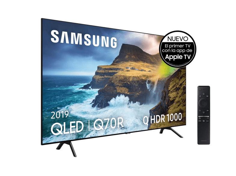 "TV QLED 65""- Samsung 65Q70R, 4K UHD, IA 4K"