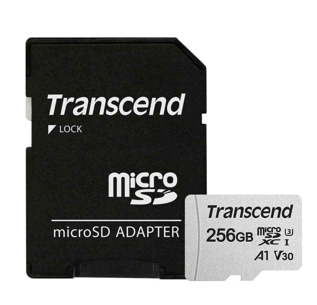 Transcend 256GB (C10, U3, A1, V30)