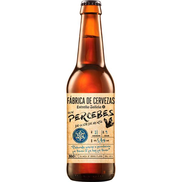 Cerveza Estrella Galicia Percebes a 2,90€ formato 50cl. 21% de descuento adicional en pedidos de más de 20€ en cervezas.