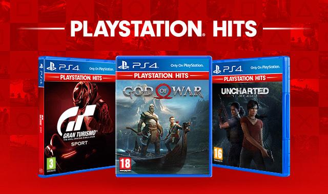 God of War, Uncharted El Legado Perdido y GT Sport por 20€ cada uno