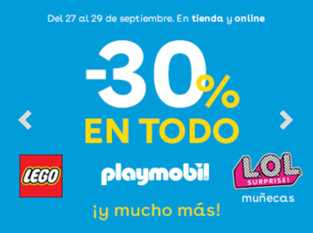 30% de descuento en ToysRUs