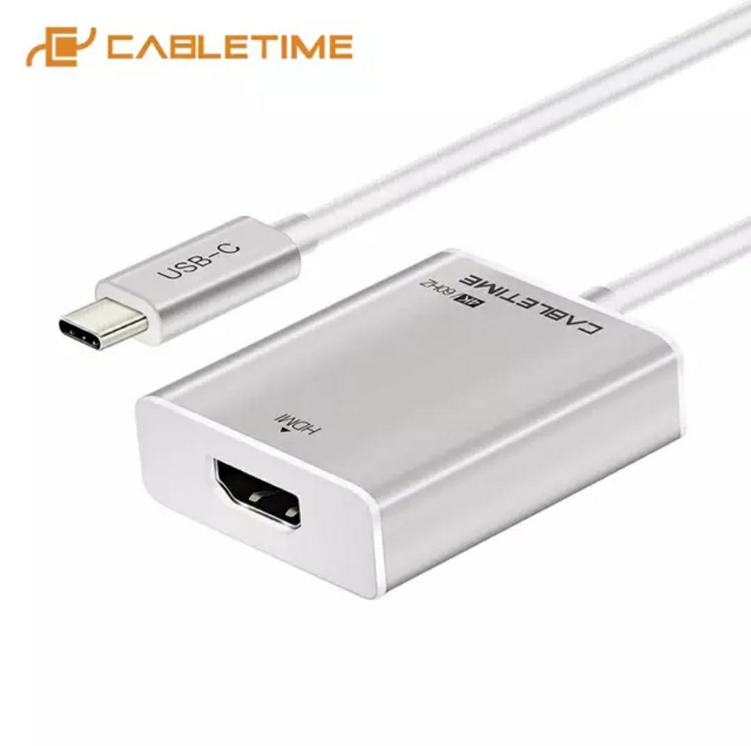AliExpress: cable adaptador HDMI a tipo C