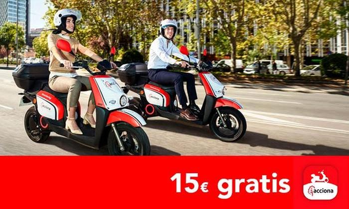 GRATIS 15€  motos+ 3,45€ patinete(SIN PAGAR NADA)