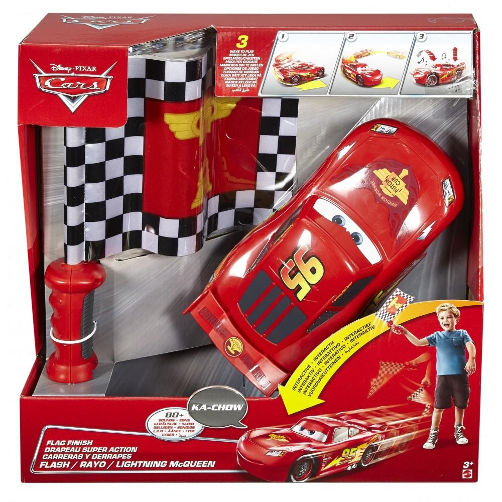 Disney Pixar Cars Rayo Mcqueen Carreras Y Derrapes, Color Rojo/Negro Mattel Spain