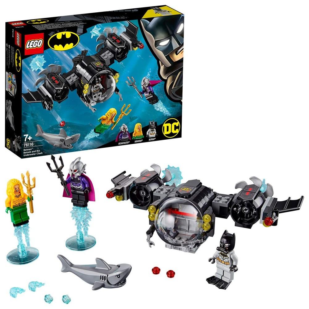 Lego DC Comics 76116 - Batsubmarino De Batman Y El Combate Bajo El Agua