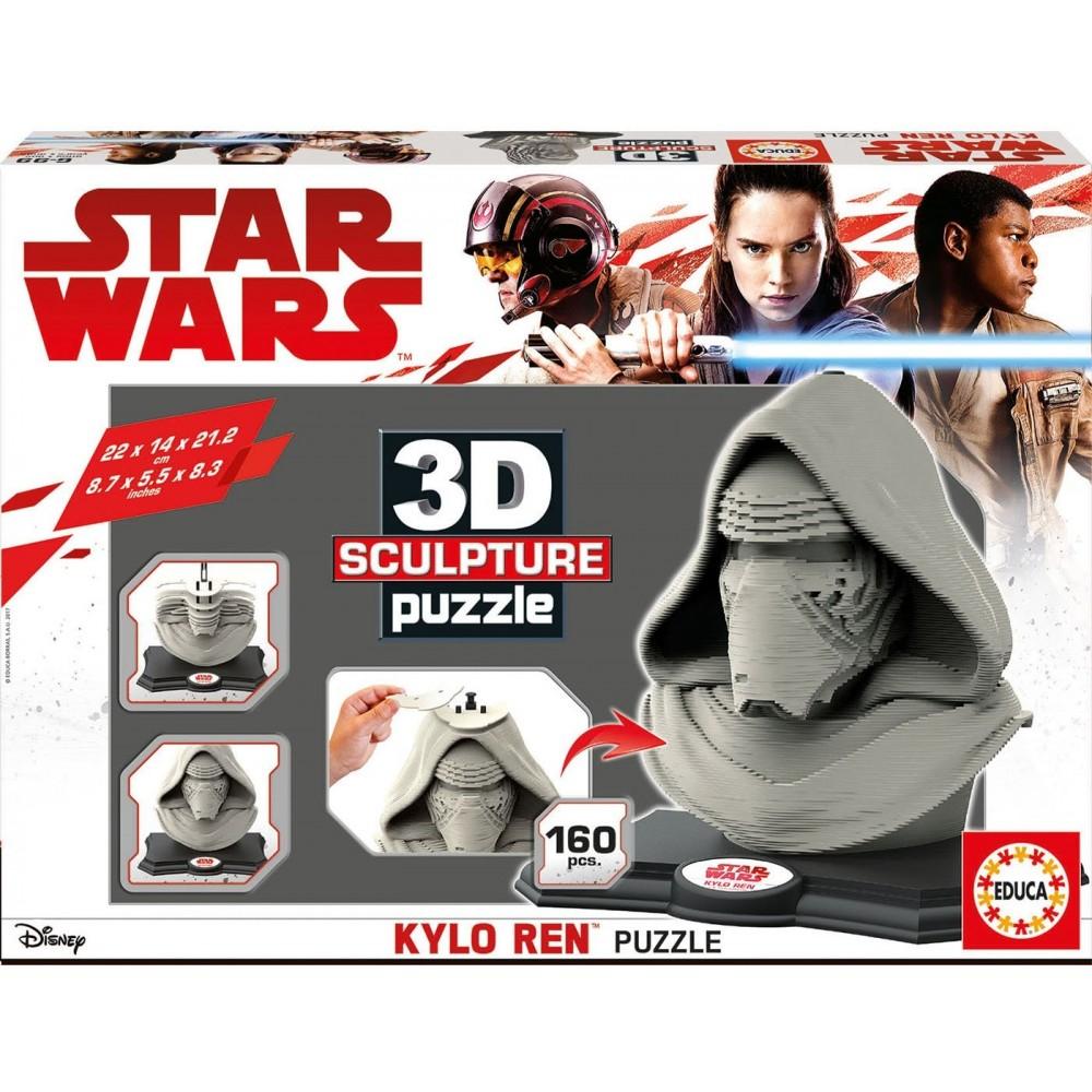 Educa Borrás Star Wars Kylo Ren Puzzle 3D