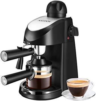 Cafetera Expresso 800W 4 Tazas