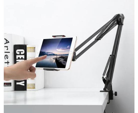 Soporte articulado para smartphones o tablets Gocomma, giro 360º, e inclinable por 13,73€.