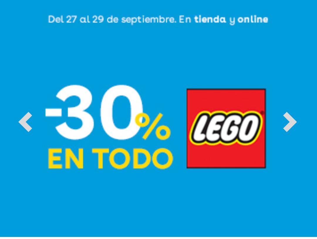 30% en LEGO