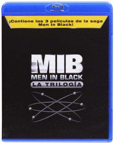 Trilogía MIB (Men in Black) Blu-Ray