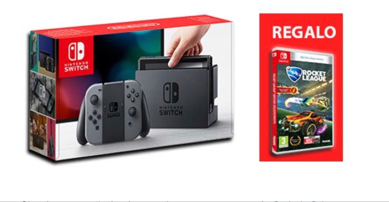 Nintendo Switch + Juego Rocket League