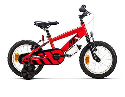 "Bicicleta infantil 14"" (Ruedines y pedales removibles)"