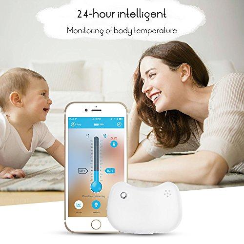Termómetro para bebés Monitoreo Bluetooth solo 5.9€