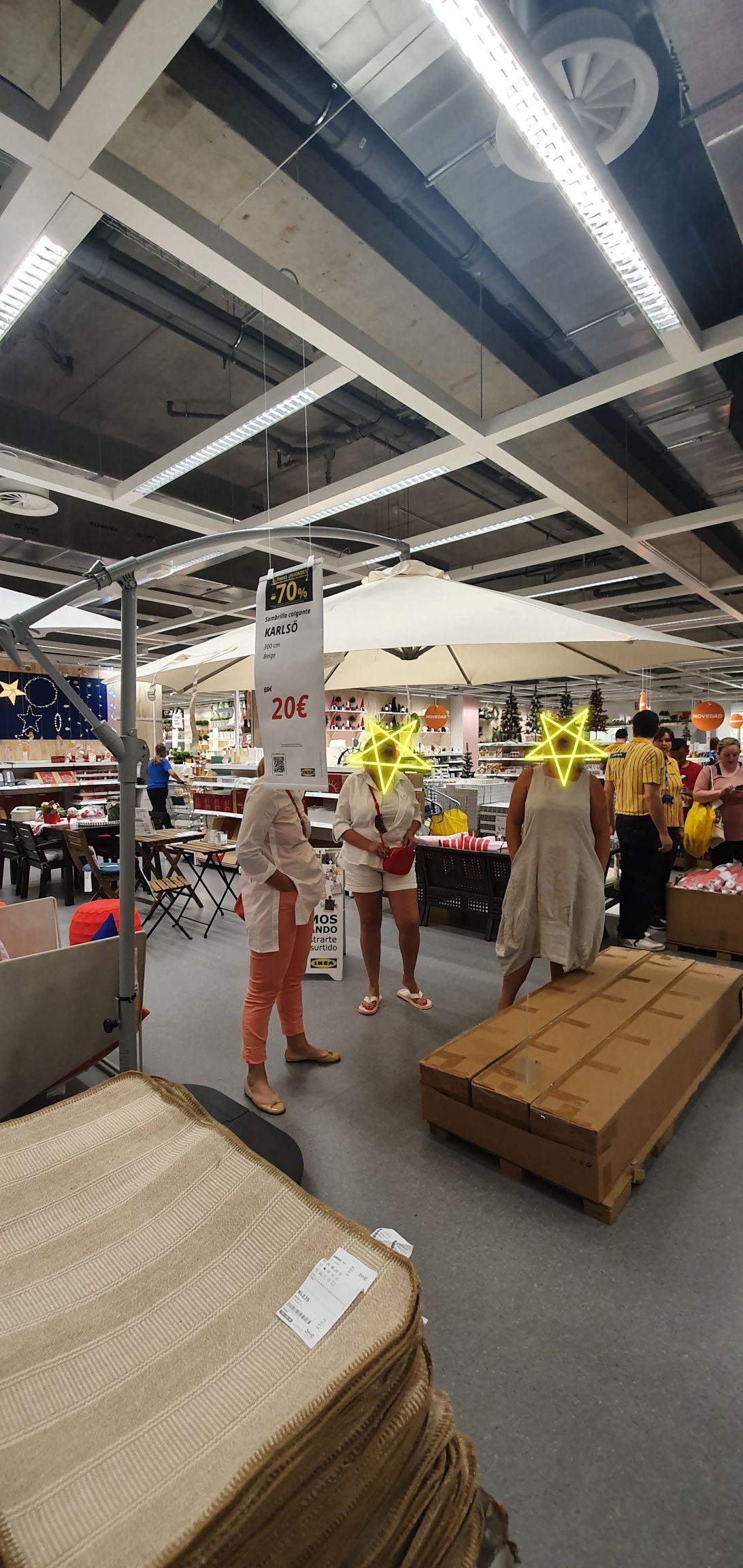 Sombrilla 3 metros IKEA