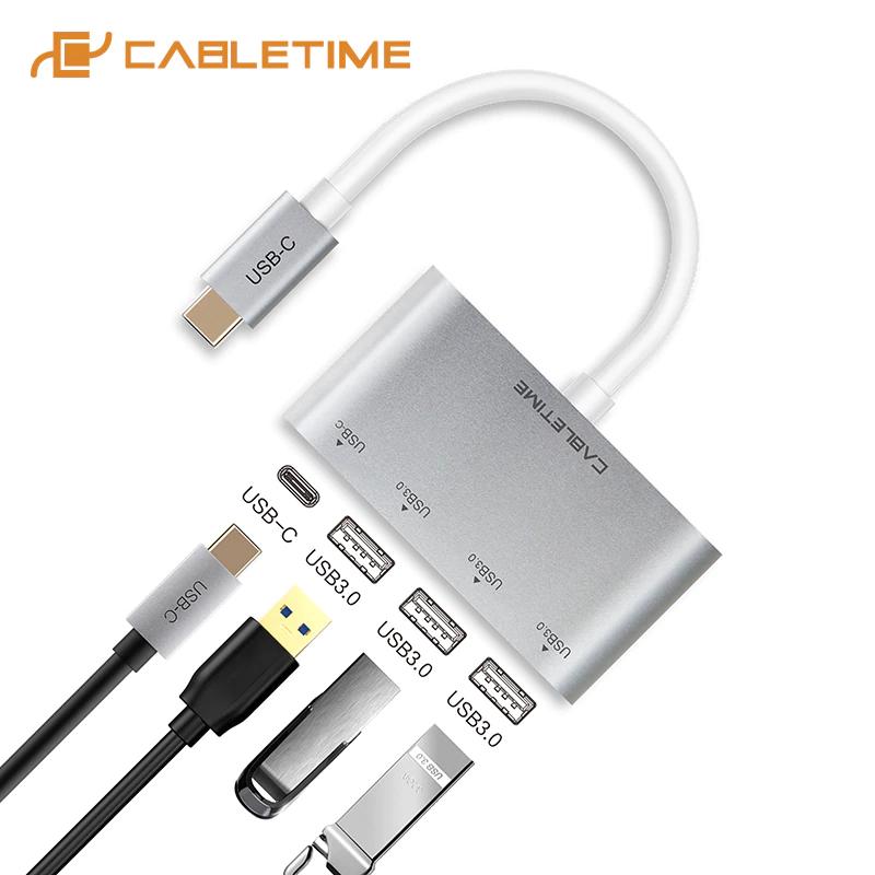 HUB tipo C 4 en 1 de Cabletime