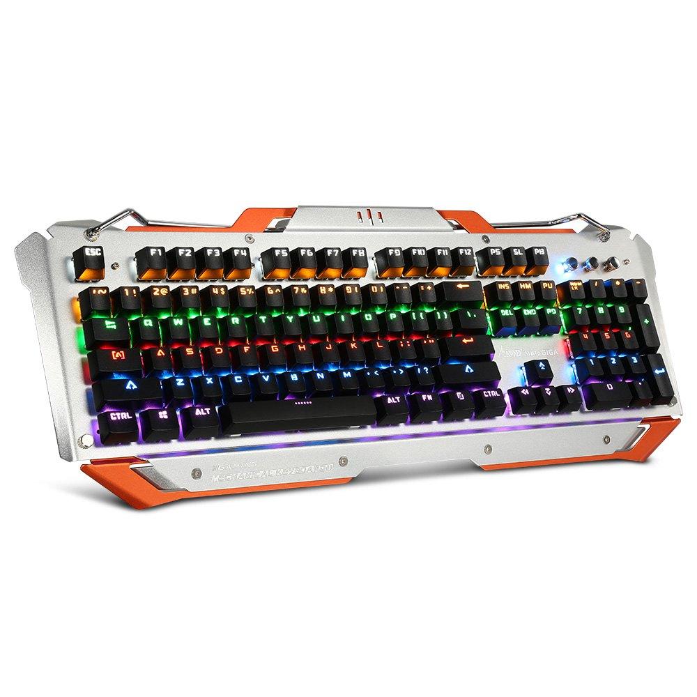 Teclado mecánico RGB Gaming Gaote Blue  26€ (-70%)