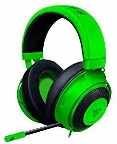 Razer Kraken - Auriculares de Gaming con micrófono (Windows, Mac, iOS, Android) Verde
