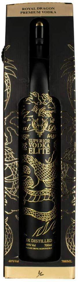 Vodka Royal Dragon Superior Elite - 700 ml