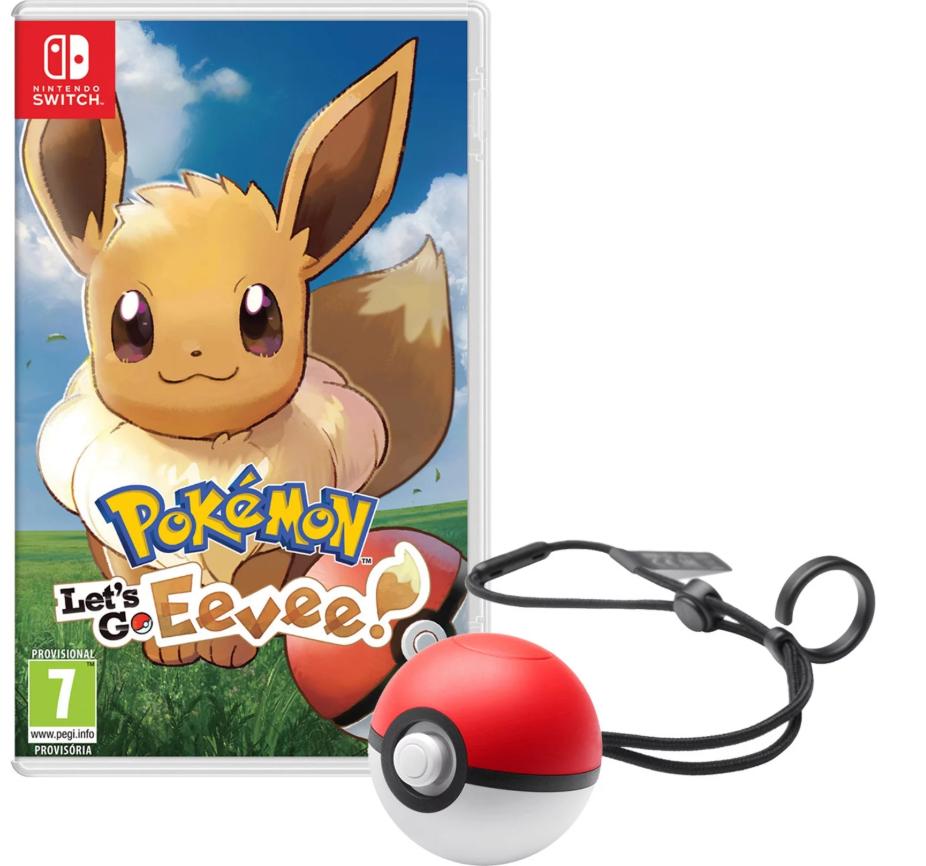 Let's Go Eevee! +Poké Ball Switch solo 29.9€