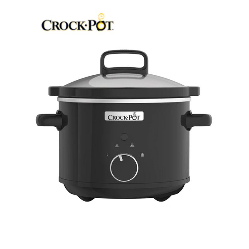 Crock-Pot negro olla eléctrica 180W