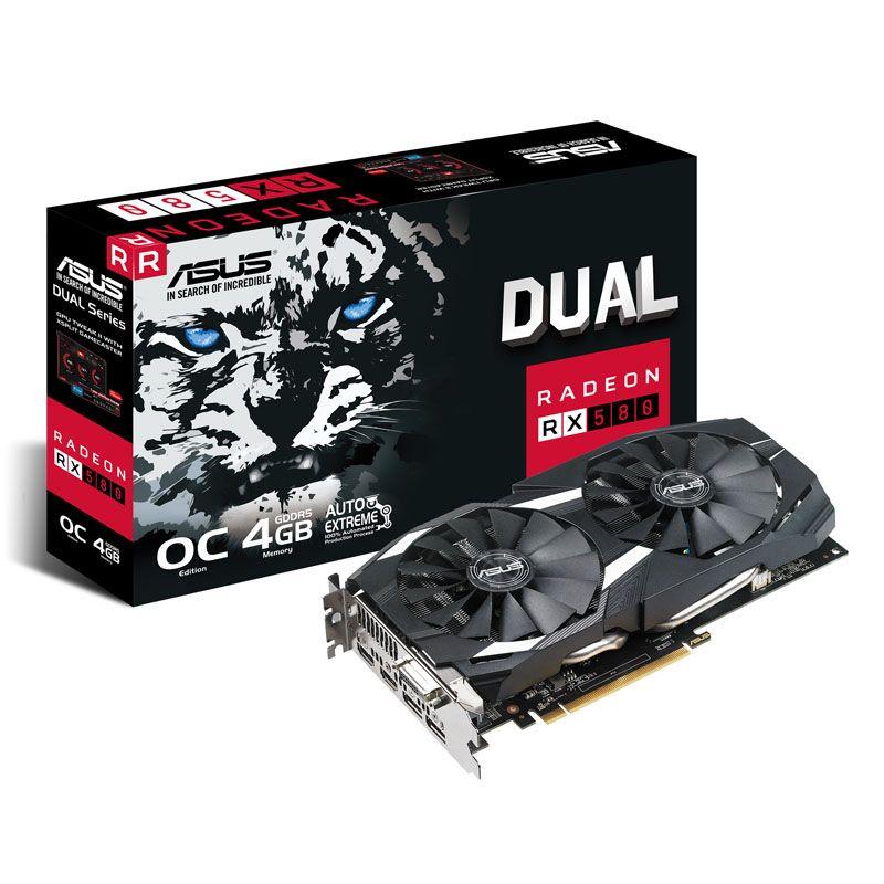Asus Radeon ROG RX 580 Dual OC 4GB por solo 134€
