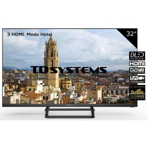TV LED 81,28 cm (32'') TD Systems K32DLX9H, HD