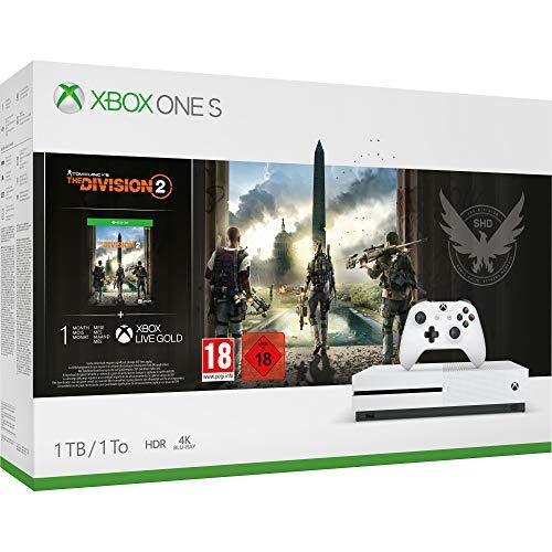 Xbox One S 1TB +Division 2 solo 199€