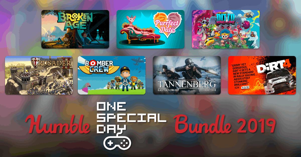 Nuevo Humblebundle One Special Day desde 0.9€