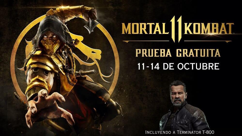 Mortal Kombat 11 juega GRATIS por tiempo limitado PS4/XBOX ONE