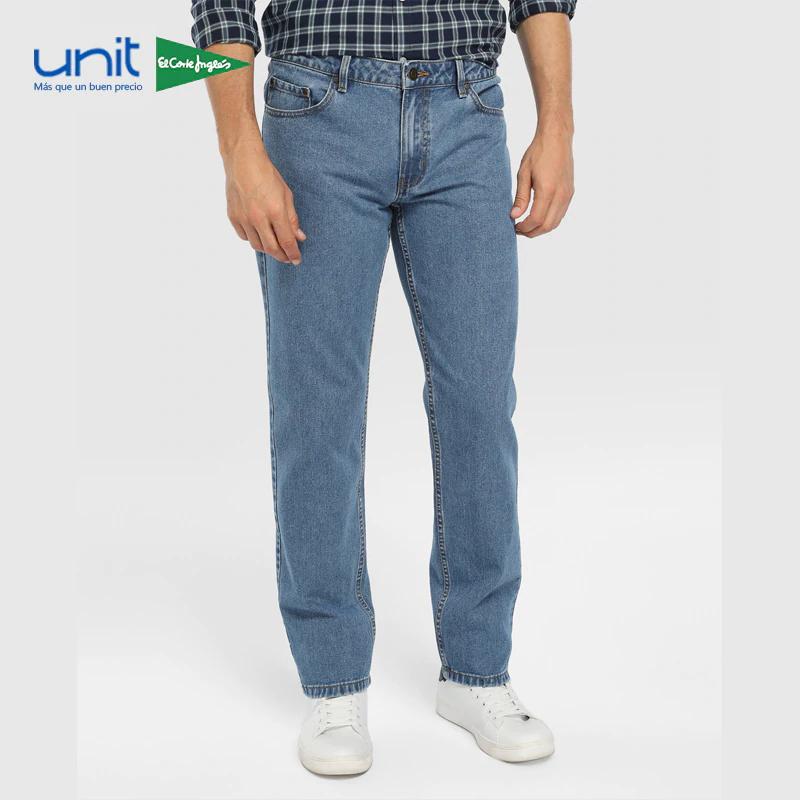 Unit, pantalón vaquero slim fit de Algodón tallas de la 42 a la 50 con envio desde PLAZA