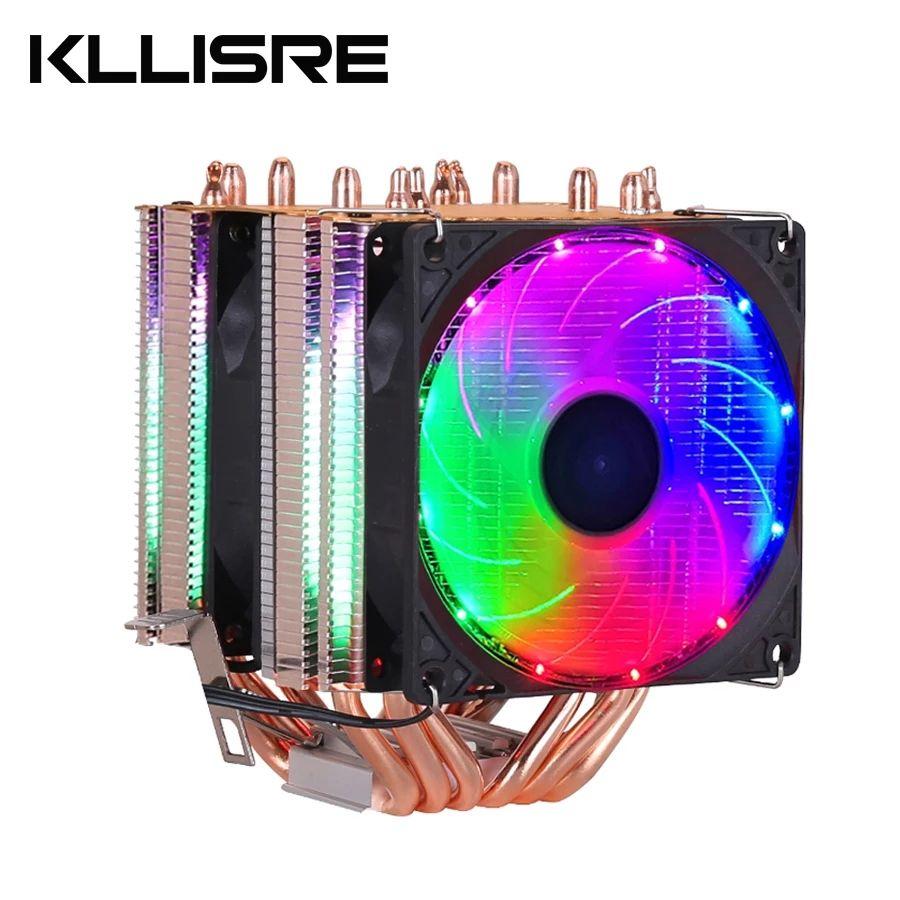 Disipador CPU 6 heatpipes