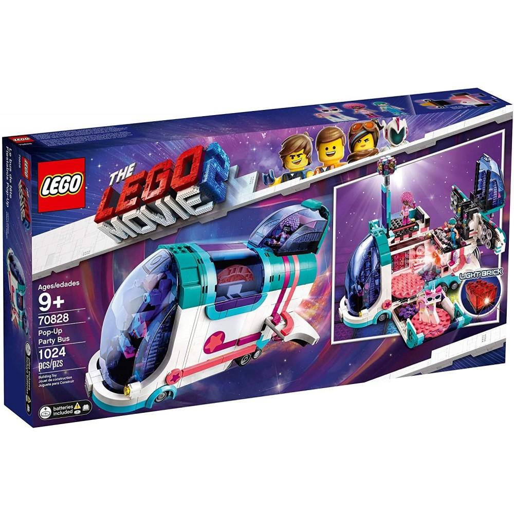 LEGO Película 2 - Fiestabús Pop-Up (70828)REFERENCIA: 00047243 Estado: