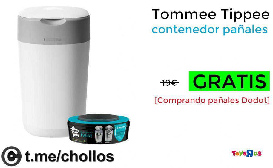 Tommee Tippee contenedor pañales GRATIS - Al comprar unas toallitas o pañal