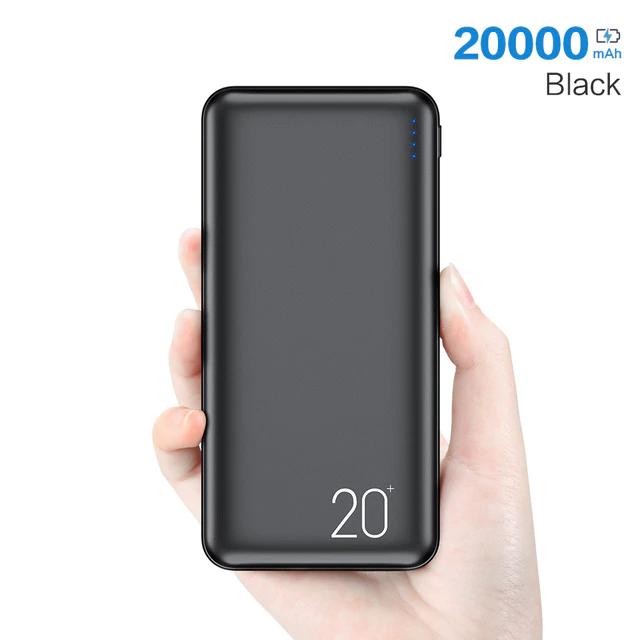 Batería Externa 20.000mAh / 2.1A de Carga