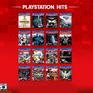 Hasta un 70% en la familia, PlayStation Hits (PS4)