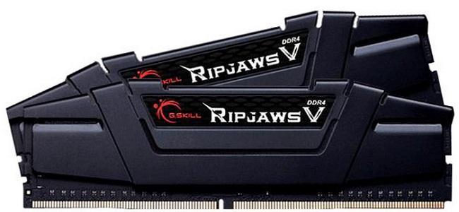 G.Skill Ripjaws V Negro DDR4 3200MHz 16GB 2x8GB CL16